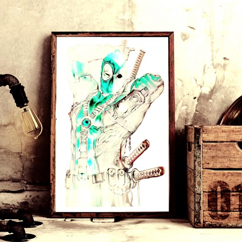 Ryan Reynolds by Diwankar